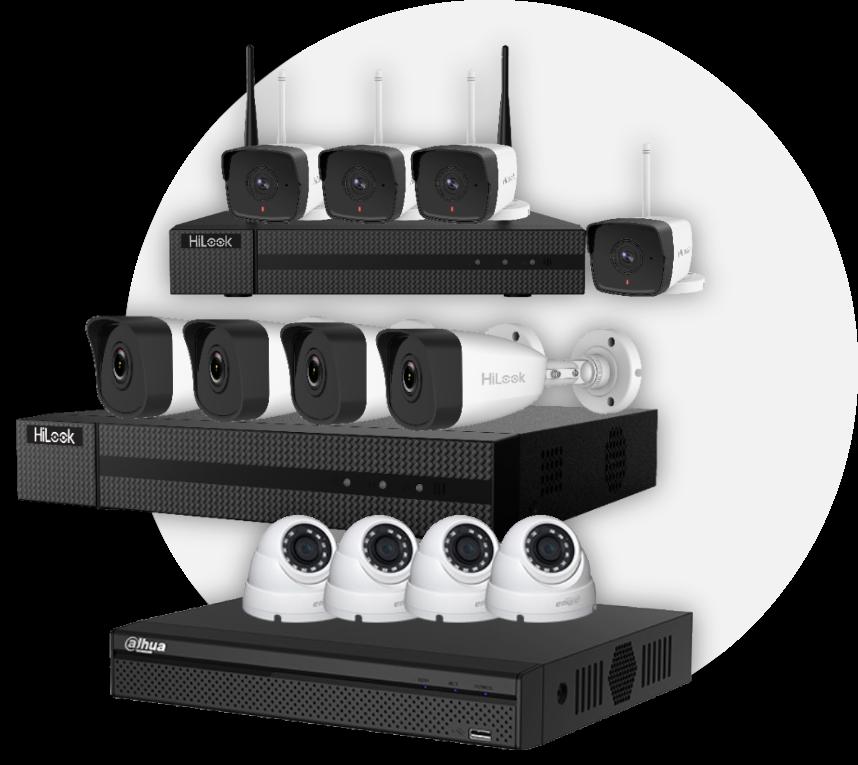 Kit caméra de vidéo surveillance